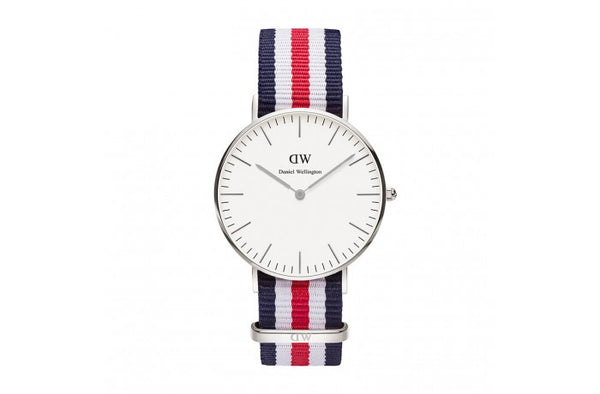 Classic Canterbury 36mm | Silver