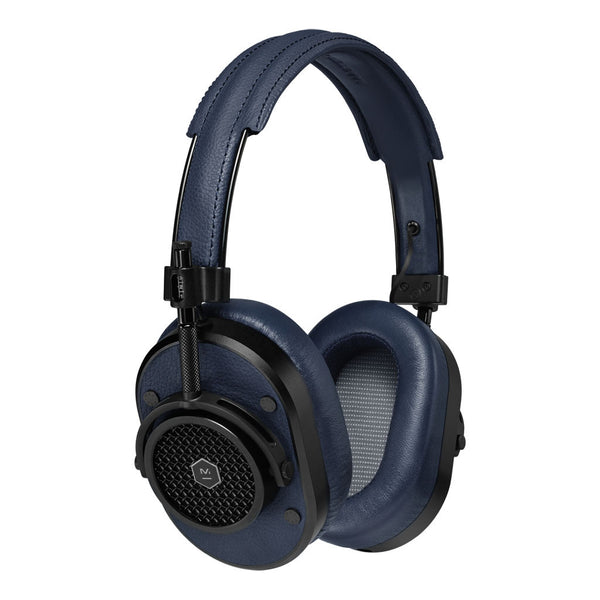 MH40 Over Ear Headphones | Navy & Black