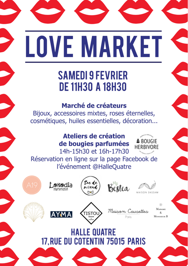 Oil you need is love au Love Market de la Halle Quatre<3