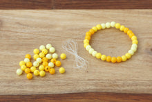 Load image into Gallery viewer, Yellow Ombre *MINI* DIY Bracelet Kit