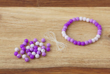 Load image into Gallery viewer, Purple Ombre *MINI* DIY Bracelet Kit