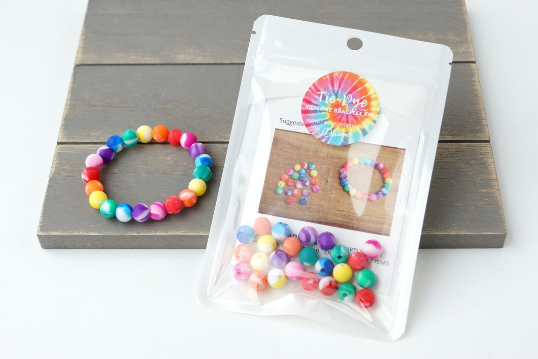 Rainbow Tie-Dye DIY Bracelet Kit