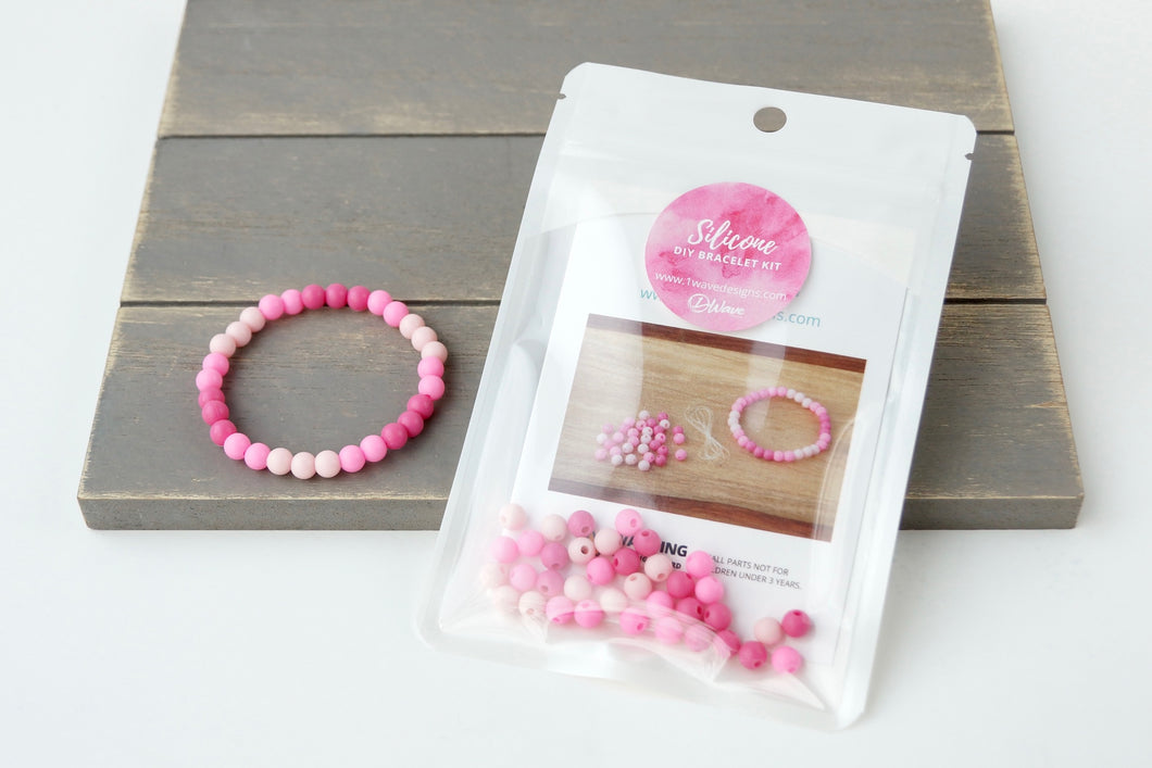 Pink Ombre *MINI* DIY Bracelet Kit