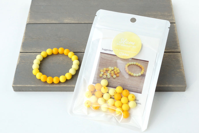 Yellow Ombre DIY Bracelet Kit