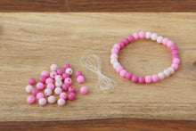 Load image into Gallery viewer, Pink Ombre *MINI* DIY Bracelet Kit