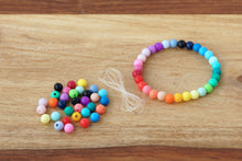 Load image into Gallery viewer, Rainbow Bright *MINI* DIY Bracelet Kit