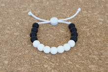 Load image into Gallery viewer, Custom adjustable silicone bead bracelet