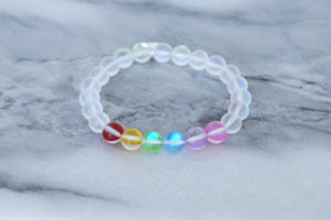 Rainbow 8 mm Moonstone