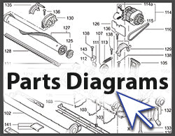 Parts diagrams link for FB landing page