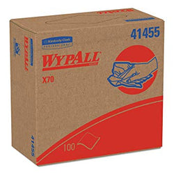 "41455 WypALL X70, White, Pop up Box, 9.1"" x 16.8"", Case"