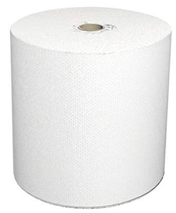 46898 Solaris Nvi LoCor Hardwound Towel 7 x 850' White 6