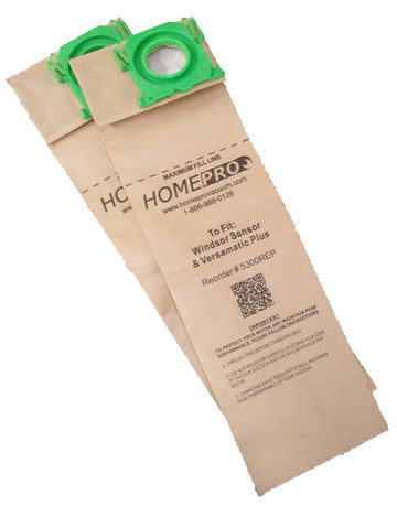 Replacement Bags for Windsor Sensor & Versamatic Plus - 5300REP