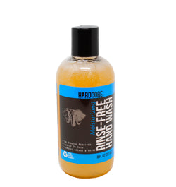 Rinse-Free Hand Wash by Hardcore Clean (8oz)