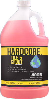 Hardcore Tile & Grout Cleaner 1 Gallon TAG0128