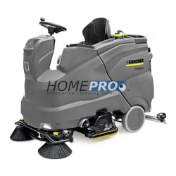 "Karcher B 150 R Bp with R 75 scrub deck 36V/30"" ride-on auto scrubber with 360 Ah batteries"