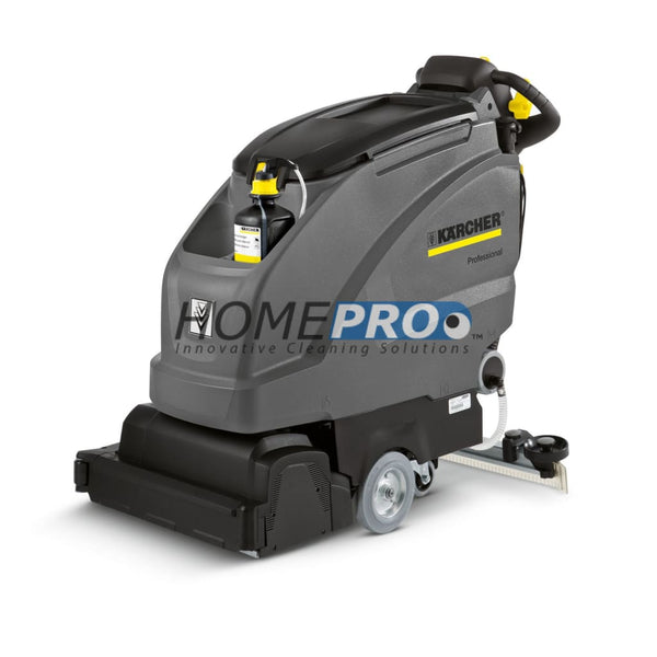 Karcher B 40 W Bp 10.6 Gallon Scrubber With 105 Ah Low Maintenance Batteries R55 Scrub Deck Machines