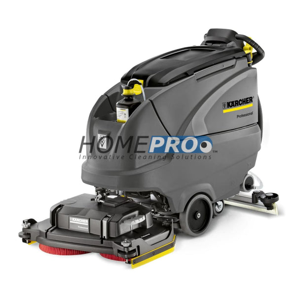 Karcher B 80 W Bp 26 Walk-Behind Scrubber Includes D 65 Cleaning Head 255 Ah Batteries And Charger