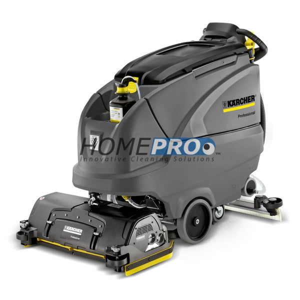 Karcher B 80 W Bp Walk-Behind Scrubber Includes 225 Ah Batteries And Charger Cleaning Head Sold