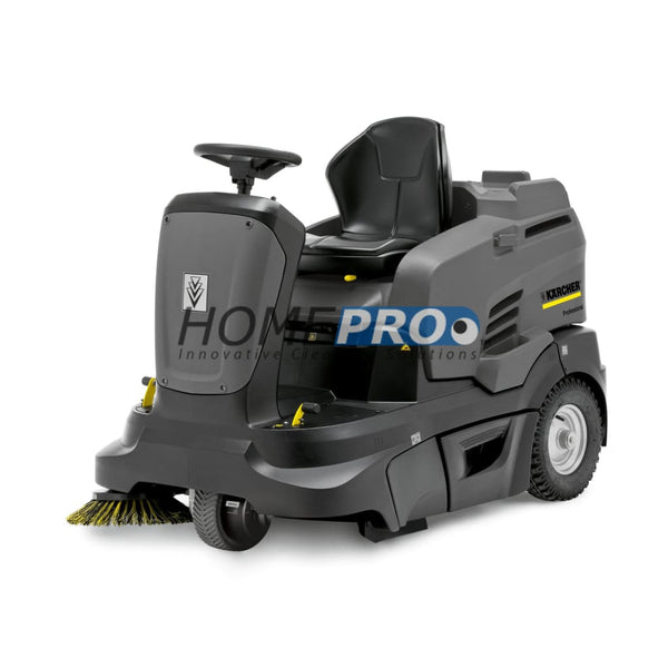 Karcher Km 90/60 R Bp Adv 2Sb 45 Ride-On Sweeper With Dual Side Brushes And 234 Ah Agm Batteries