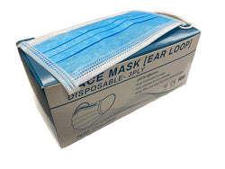 Medical Face Masks, Box of 50