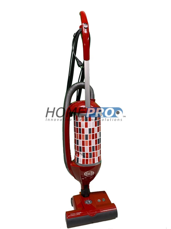 Sebo Felix Upright Vacuum Red Machines