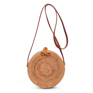 Barcelona Wicker Crossbody