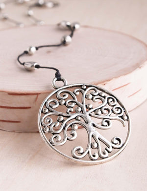 Scroll Tree of Life Necklace