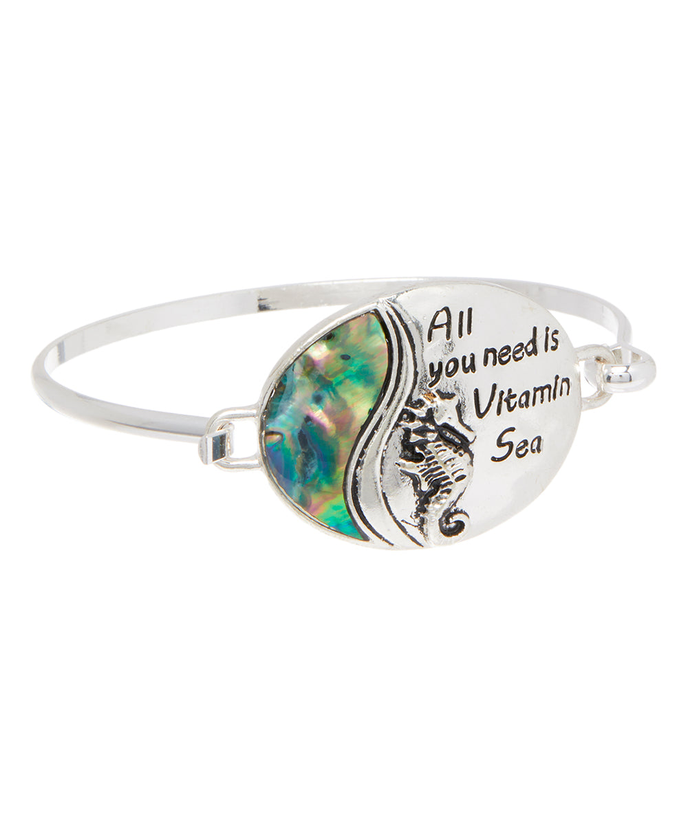 'All You Need is Vitamin Sea' Bangle