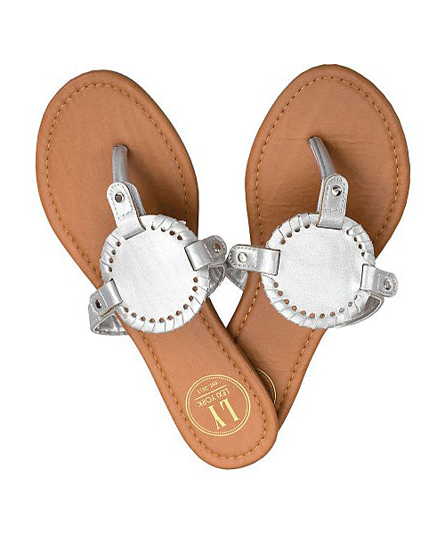 Twist Disc Sandal