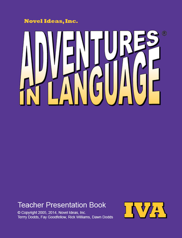 1022-4A TPP Adventures in Language Level IVA (2014 Edition) - Teacher Presentation Book*