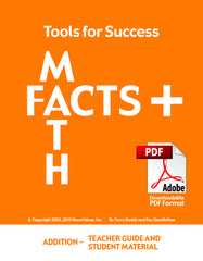 7001.021-TFSTGSMA Tools for Success: A Math Facts Program - Addition (Downloadable Teacher Guide and Student Materials)