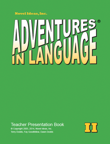 1007-2TPB Adventures in Language Level II (2014 Edition) - Teacher Materials