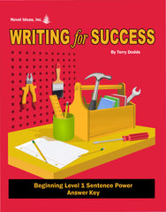 9001-3 WFSB1AK Writing for Success: Beginning Level 1--Sentence Power Answer Key