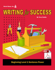 9001-1 WFSB1SP Writing for Success: Beginning Level 1--Sentence Power Teacher Materials (Downloadable Version)