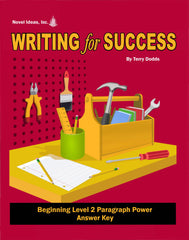 9002-3 WFSB2AK Writing for Success: Beginning Level 2--Paragraph Power Answer Key