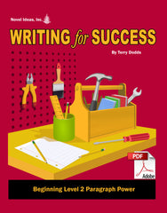 9002-1 WFSB2PP Writing for Success: Beginning Level 2--Paragraph Power Teacher Materials (Downloadable Version)