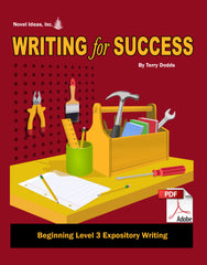 9003-1 WFSB3E Writing for Success: Beginning Level 3--Expository Writing (Downloadable Version)