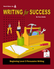 9006-1 WFSB3P Writing for Success: Beginning Level 3--Persuasive Writing (Downloadable Version)
