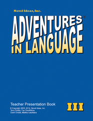 1016-3TPP Adventures in Language Level III (2014 Edition)  - Teacher Presentation Book*