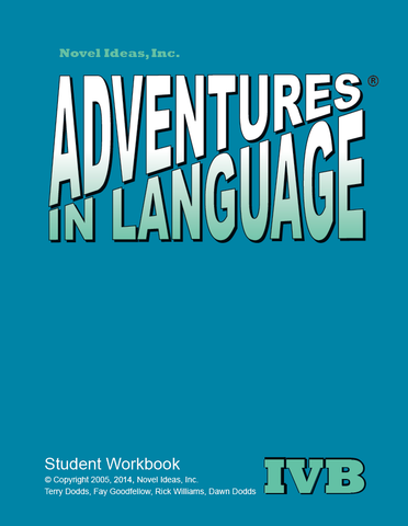 1026-4B SB Adventures in Language Level IVB (2014 Edition) - Student Workbook