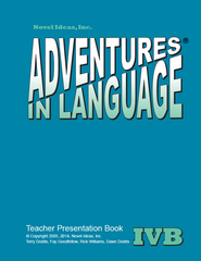 1028-4B TPP Adventures in Language Level IVB (2014 Edition) - Teacher Presentation Book*