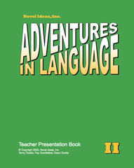 1010-2TPP Adventures in Language Level II (2014 Edition) - Teacher Presentation Book*
