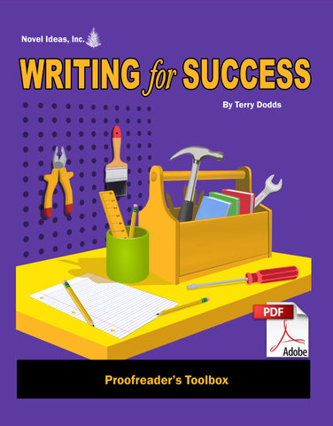 9000-1 WFSPT Writing for Success: Proofreader's Toolbox (Downloadable Version)