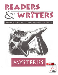 8002.01-RWMYS Mysteries (Readers & Writers: Becoming Authors Through Genre Studies) - Downloadable Version