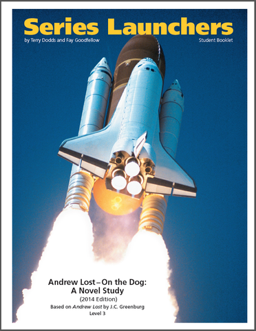 3020.02-WBAL [Andrew Lost Series] Andrew Lost: On the Dog (by J. C. Greenburg) Student Workbook (10) (2014 Edition)