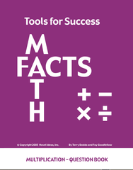 7001.04-TFSMULT Tools for Success: A Math Facts Program Multiplication Student Books (10)