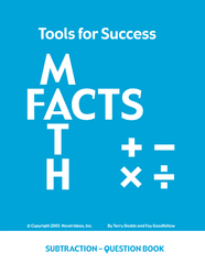 7001.03-TFSSUBT Tools for Success: A Math Facts Program Subtraction Student Books (10)