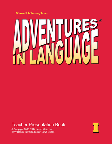 1004-1TPP Adventures in Language Level I (2014 Edition)- Teacher Presentation Book*