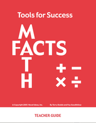 7001.01-TFSTG Tools for Success: A Math Facts Program Teacher Guide