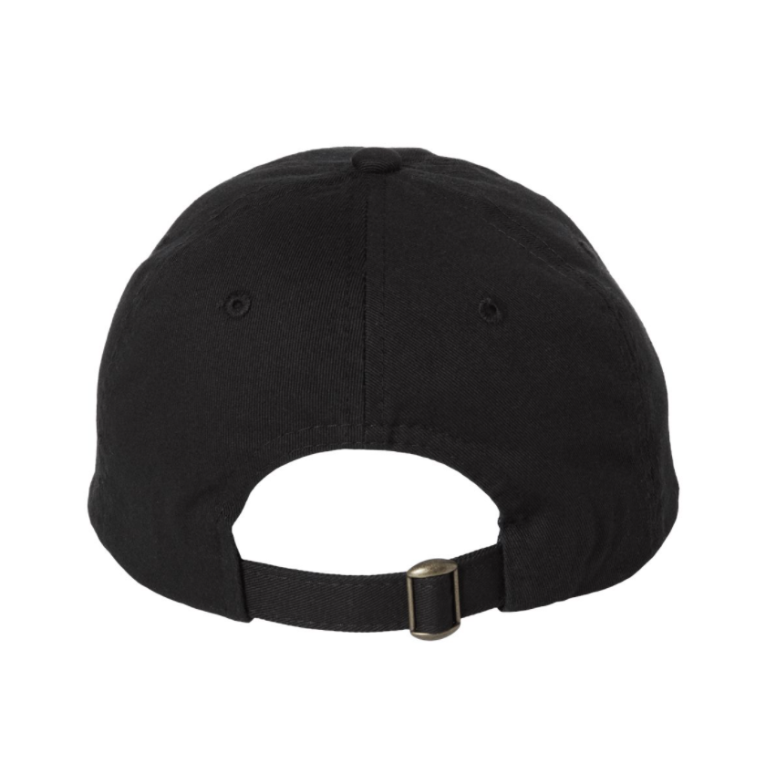 Belair Black Color Flame Logo Design Classic Chino Cap Hat